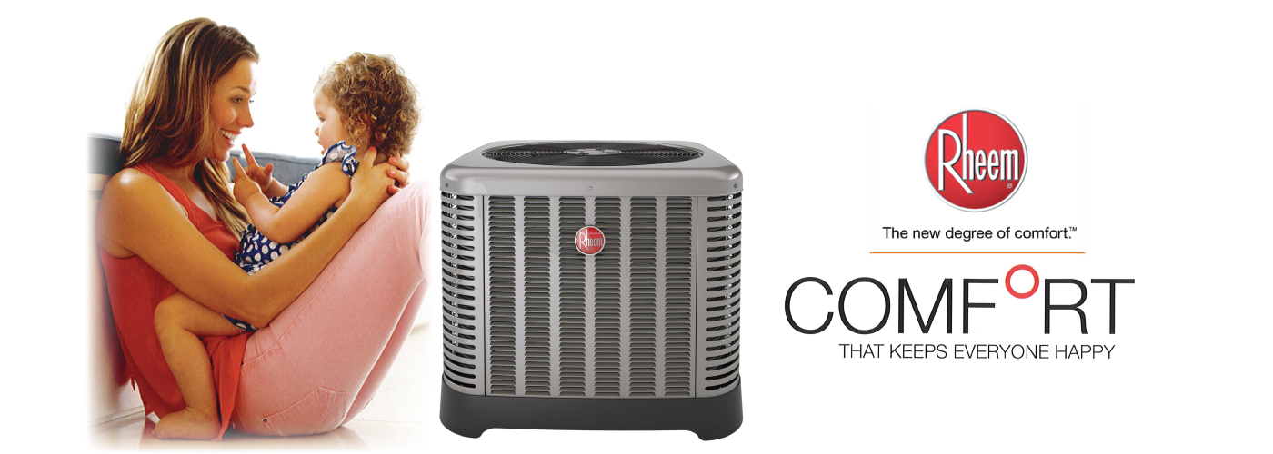 Marc Viau Mechanical, Cornwall, Rheem Air Conditioner For your comfort